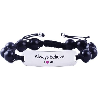 Always Believe - Black Onyx Bracelet