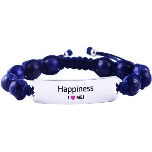 Happiness - Marine Blue Lazurite Bracelet