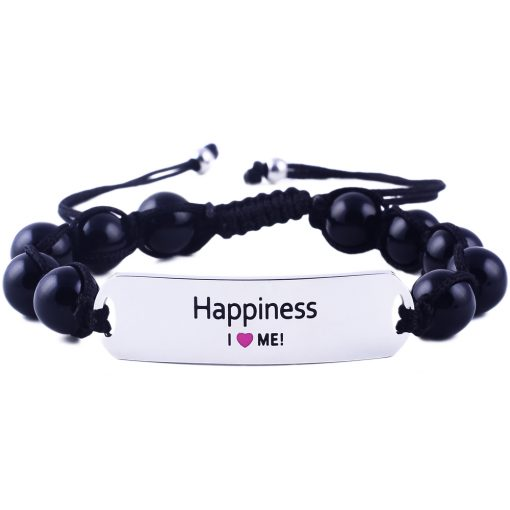 Happiness - Black Onyx Bracelet