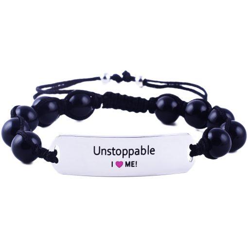 Unstoppable - Black Onyx Bracelet